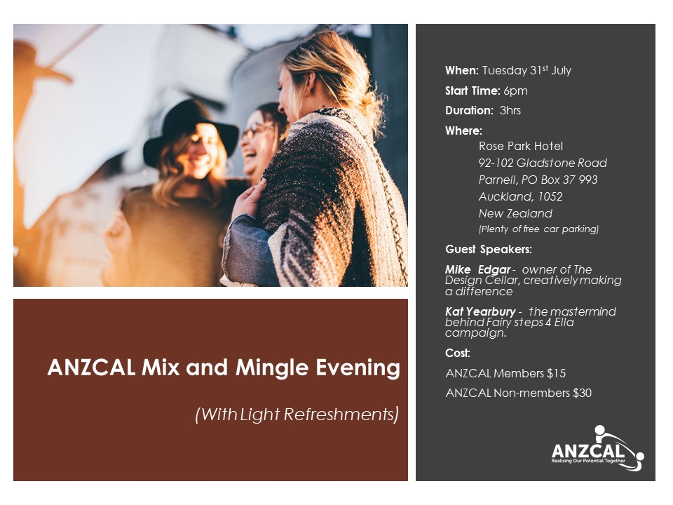 ANZCAL Mix and Mingle Event