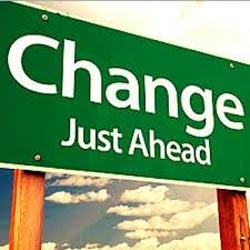 Change Just Ahead