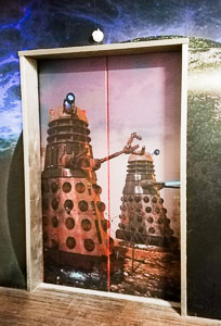 Dalek Lift Door